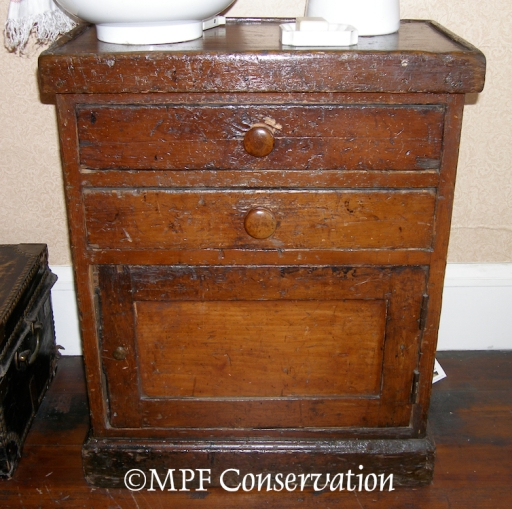 NPS McLoughlin House Washstand S.S.Beaver