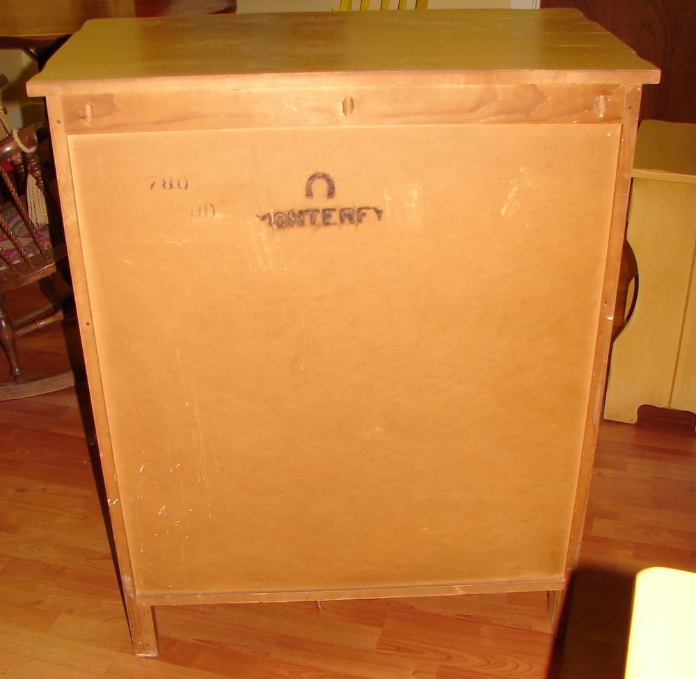 Mason Monterey Juan Tinoco Mexican Highboy Dresser (4/6)