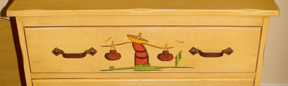 Mason Monterey Juan Tinoco Mexican Highboy Dresser (5/6)