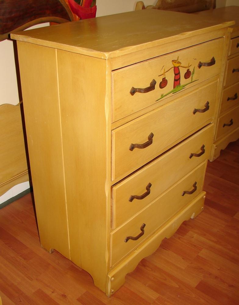Mason Monterey Juan Tinoco Mexican Highboy Dresser (2/6)