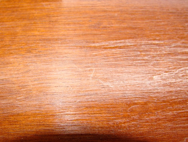shellac stain tabletop restoration impurities in shellac and other woes
