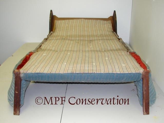 Eastlake Sofa-Bed Upholstery Conservation #1: Excavation (5/6)