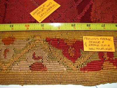 Tapestry Repair 1 Before