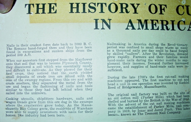 BRAYFIELD HISTORY NAIL 1