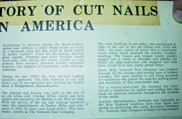 BRAYFIELD HISTORY NAIL 2