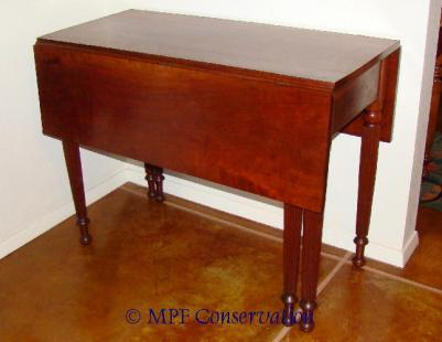 W07 BRCK DARK GATELEG TABLE MPFC