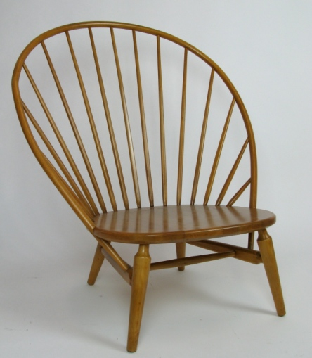 Great High-Spindle-Back Lounge Chair $1,250 1950