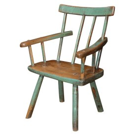 Irish fools chair 1840 elm