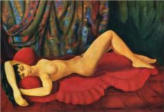 kisling large-nude-josan-on-red-couch-1953.jpg!Blog