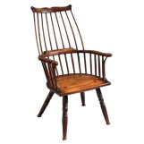 ''Lobster Pot'' Form Windsor Comb Back Chair $7,200