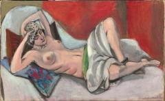 matisse draped-nude