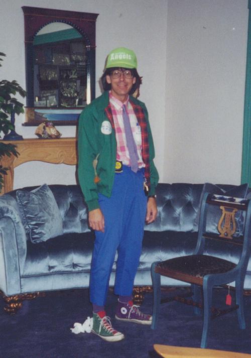 Mitchell halloween geek