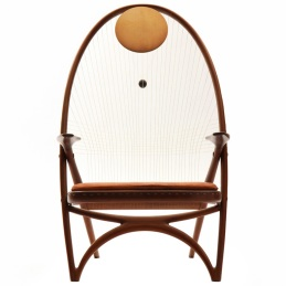 the Racquet Chair by Vestergaard Jensen