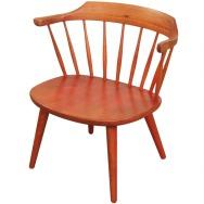 """Vintage 1950's """"Arka"""" Chair designed by Yngve Ekström for Stolab"""