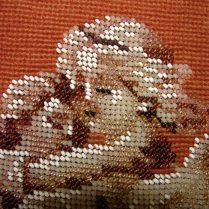 Beaded Victorian Needlepoint