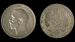 engraved coin