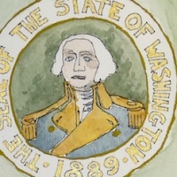 Washington State Flag, 1