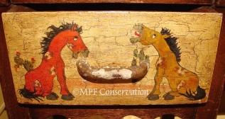 W16 MONTEREY TINOCO HORSE TABLE MPFC 32