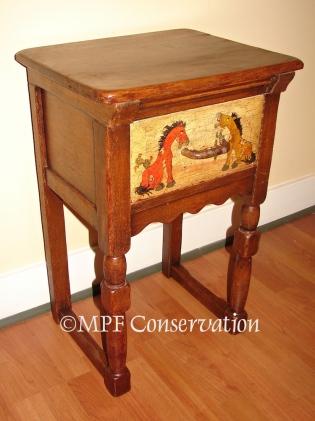 W16 MONTEREY TINOCO HORSE TABLE MPFC 38