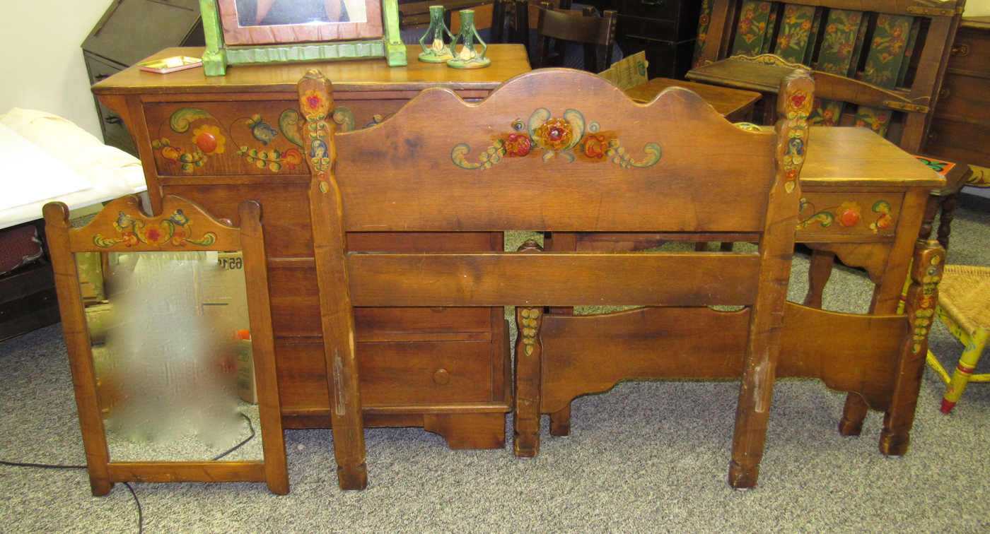 We Are Breaking Up The Mason Monterey Smokey Maple Floral Bedroom Set Circa  1932 And Selling It By The Piece. Mason Monterey Highly Decorated And  Desirable ...