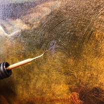 Hot wax pencil shaping PWR.