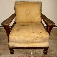 Mason Monterey Club Chair, 3 Buildup